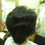 キュビズムカット くせ毛 ② 171106