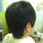 キュビズムカット くせ毛 ⑤ 190826