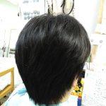 キュビズムカット くせ毛 ⑤ 200111
