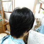 キュビズムカット くせ毛 ④ 200201