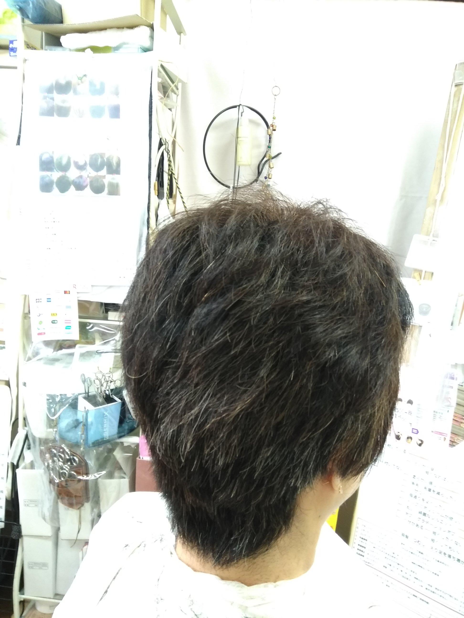 キュビズムカット くせ毛 ⑧ 200326