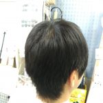 キュビズムカット くせ毛 ⑦ 200511