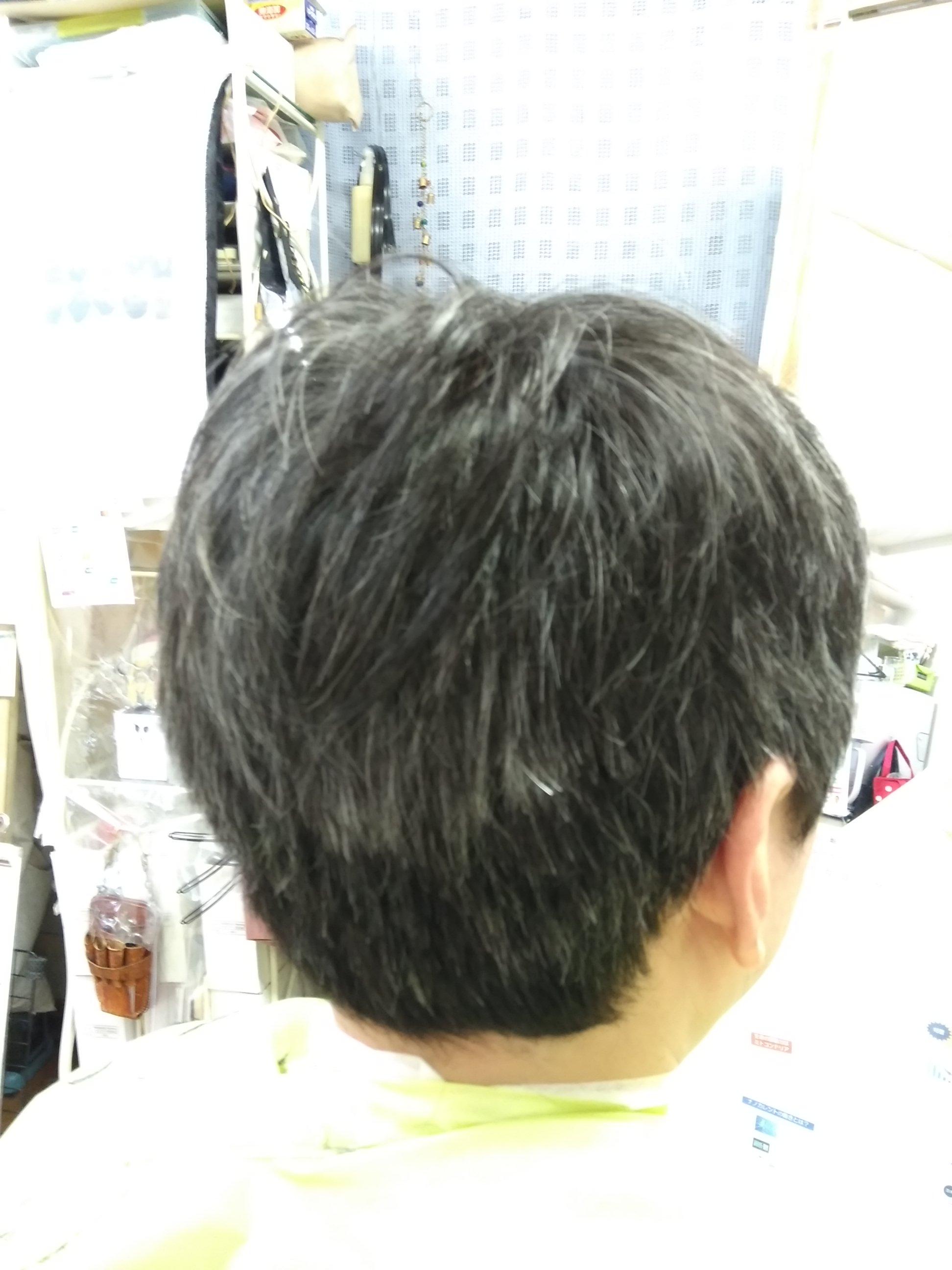 キュビズムカット くせ毛 200527