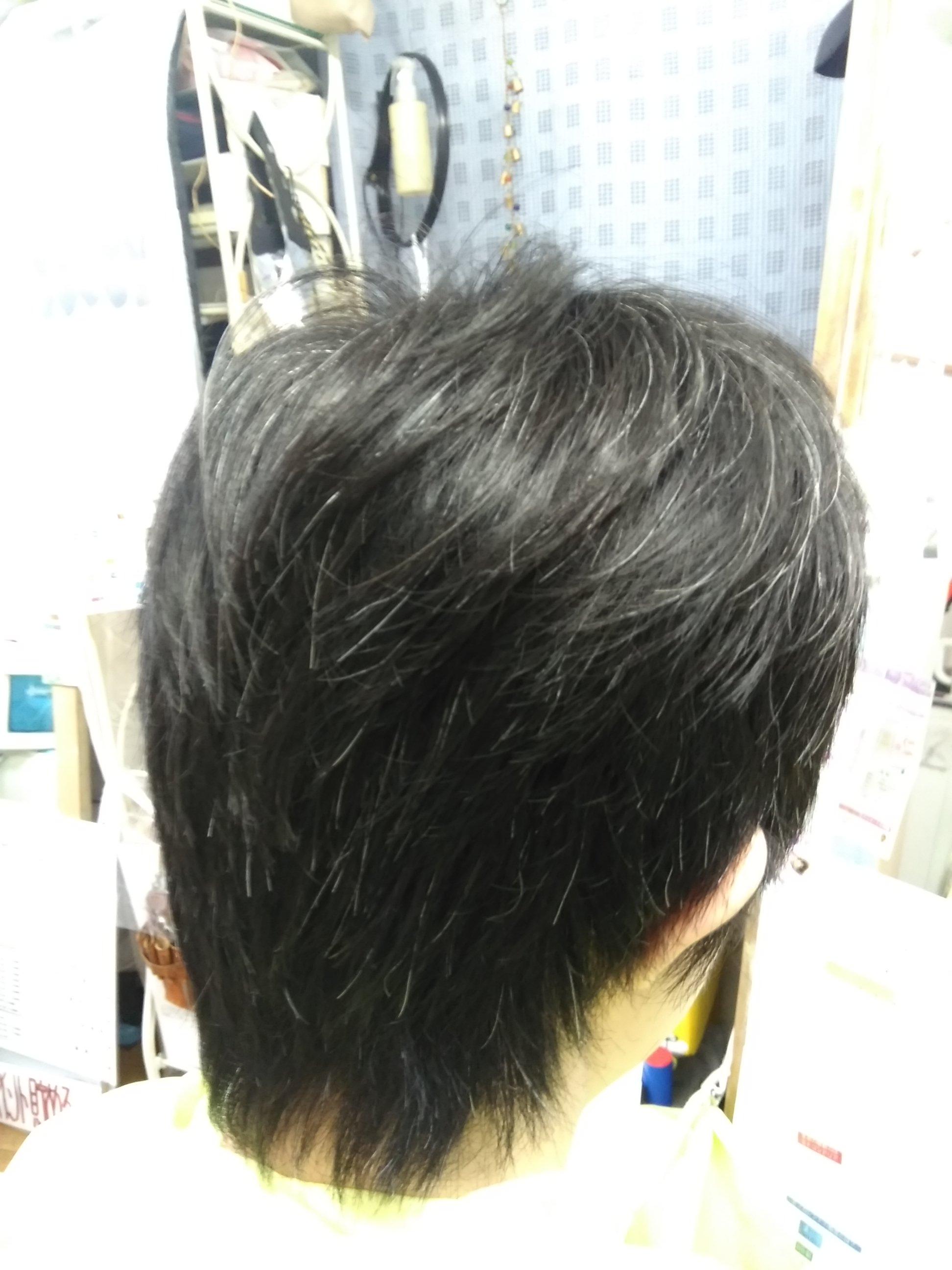 キュビズムカツト くせ毛 200704