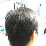 キュビズムカット くせ毛 ⑤ 200806