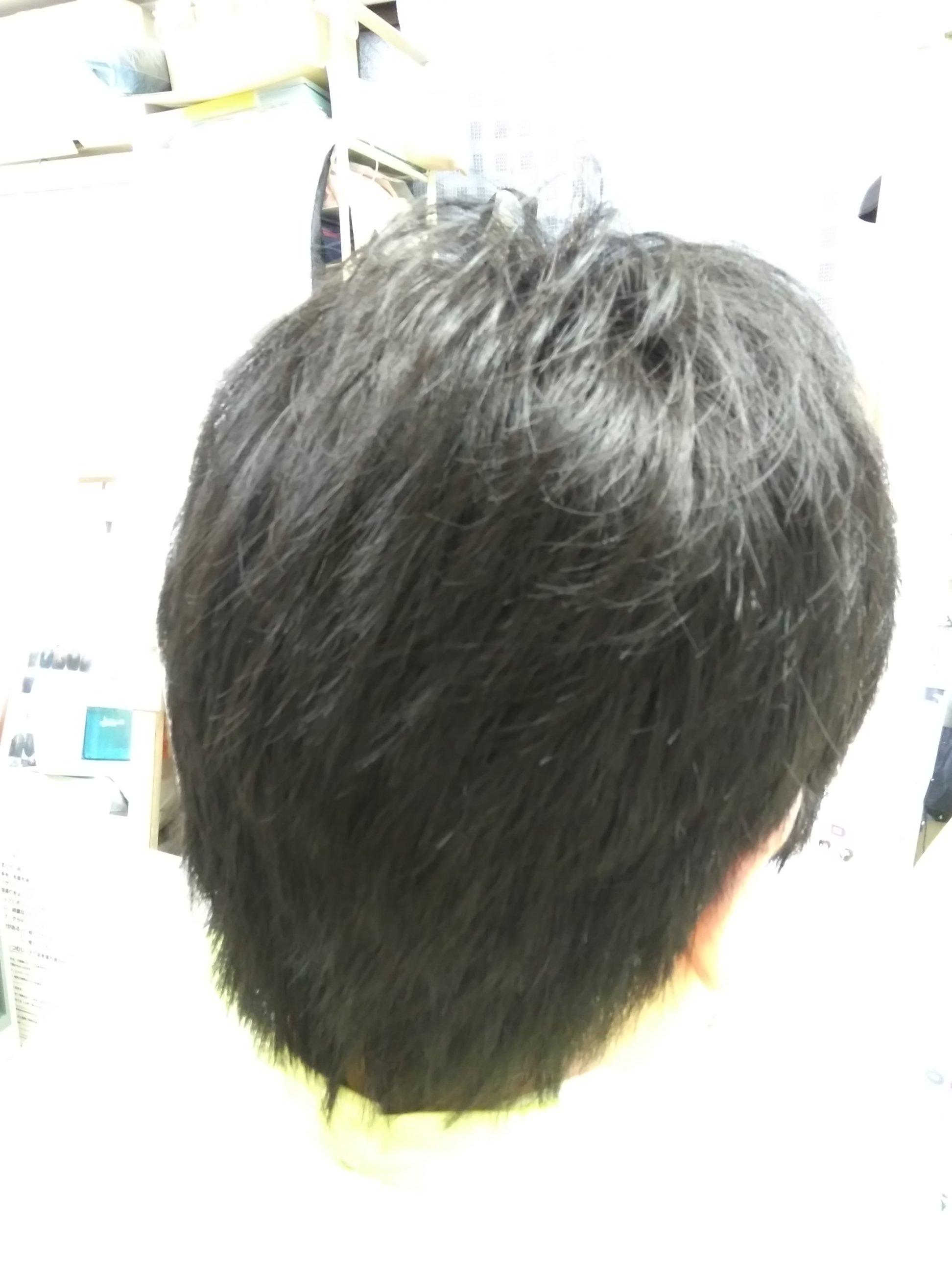 キュビズムカット くせ毛 200806