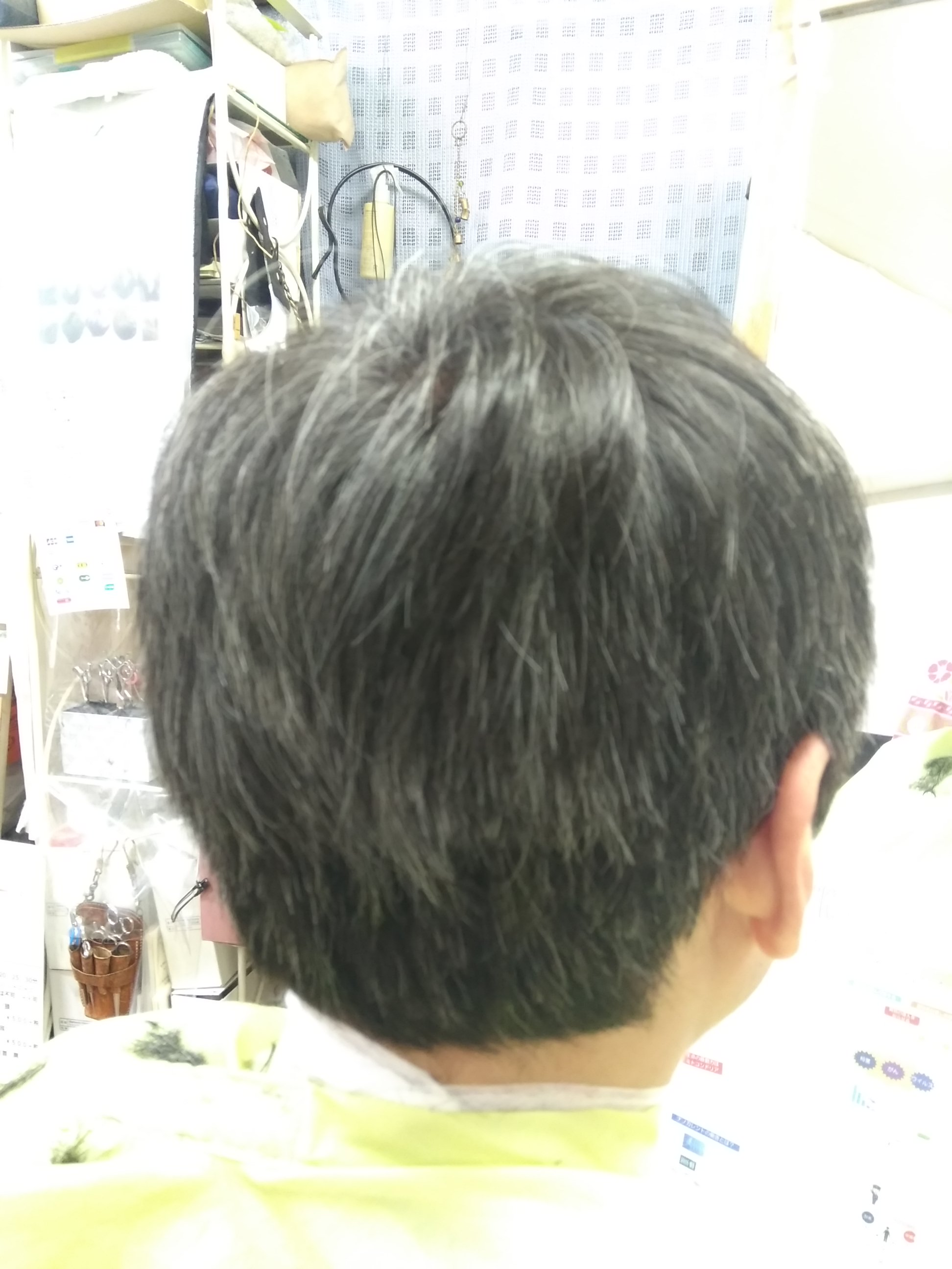 キュビズムカット くせ毛 200923