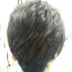 キュビズムカット くせ毛 200928