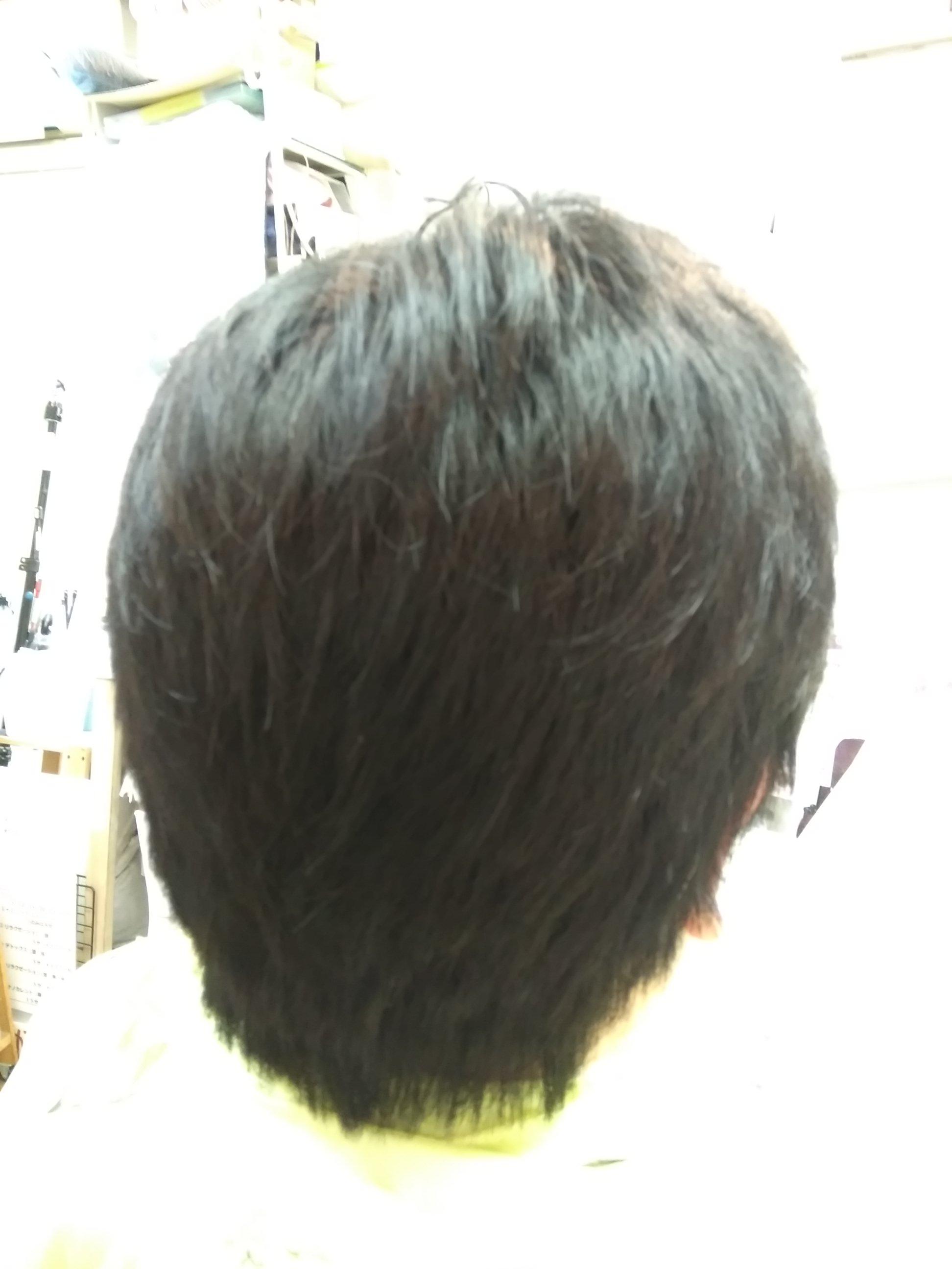キュビズムカット くせ毛 ⑦ 201108