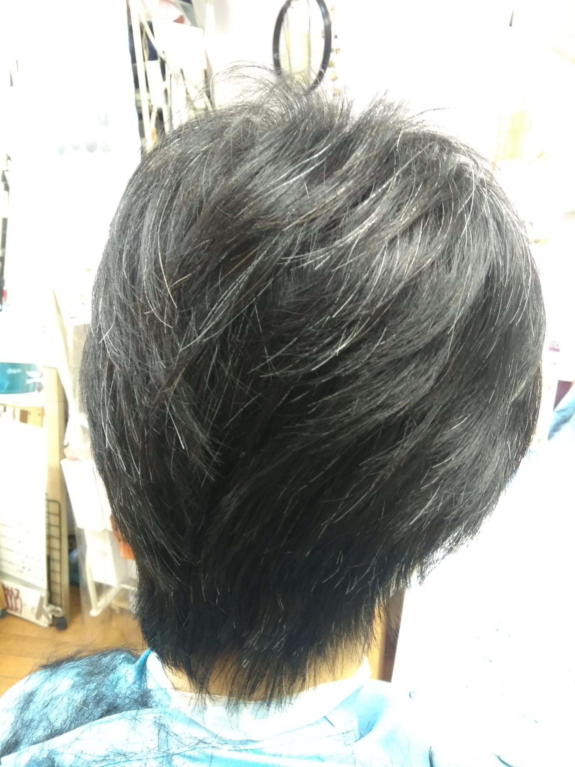 キュビズムカット くせ毛 201121