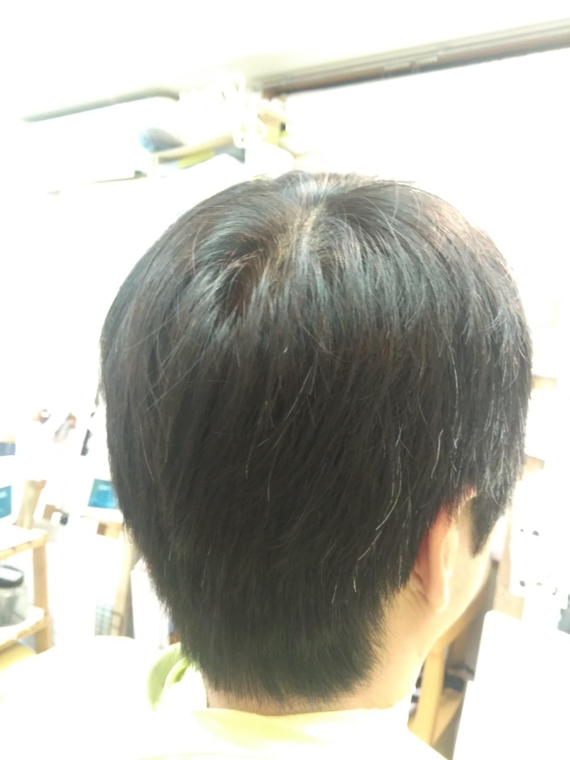 キュビズムカット くせ毛 201123
