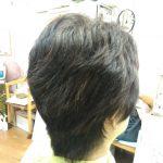 キュビズムカット くせ毛 ⑩  210114