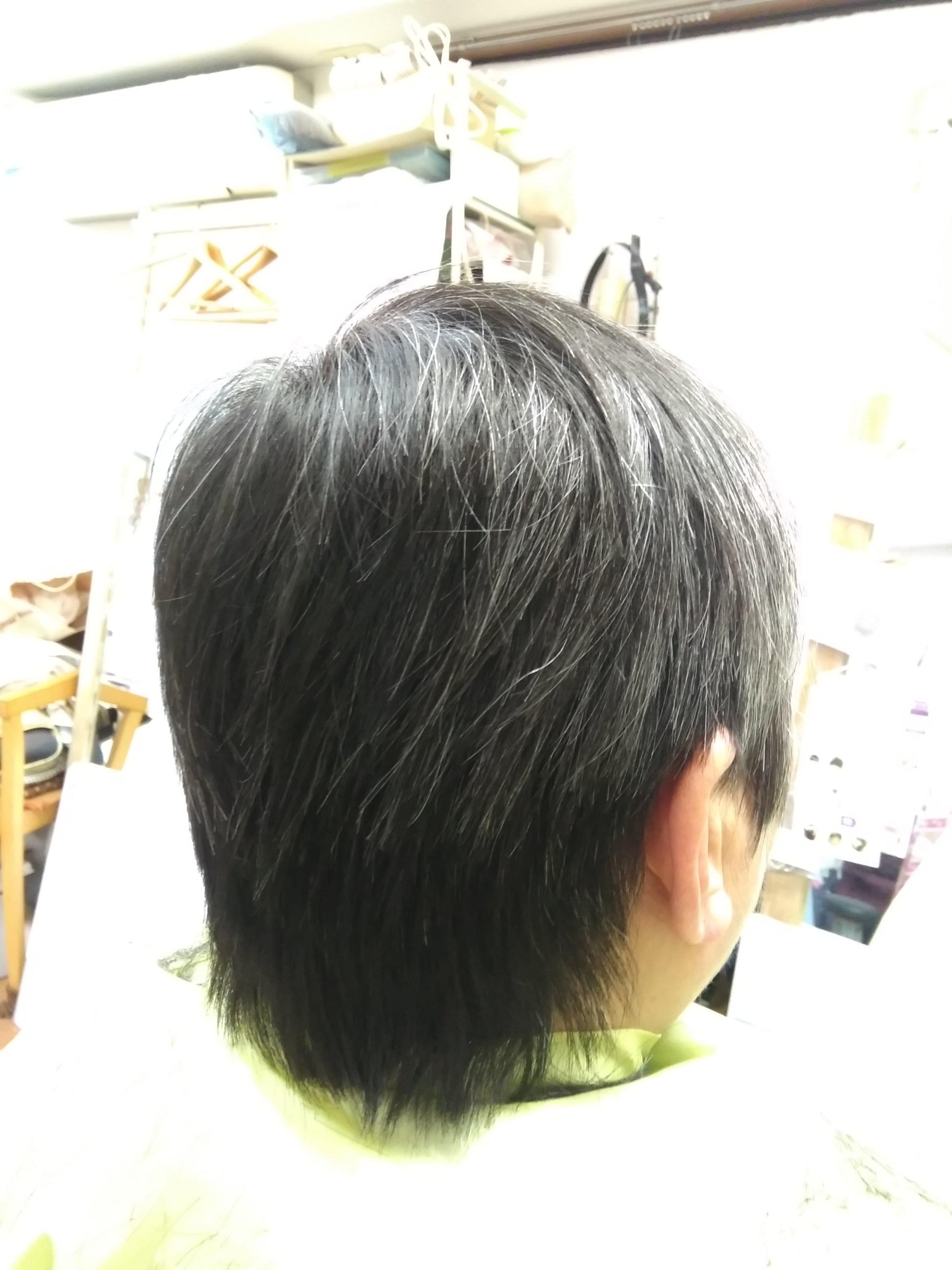 キュビズムカット くせ毛 210128