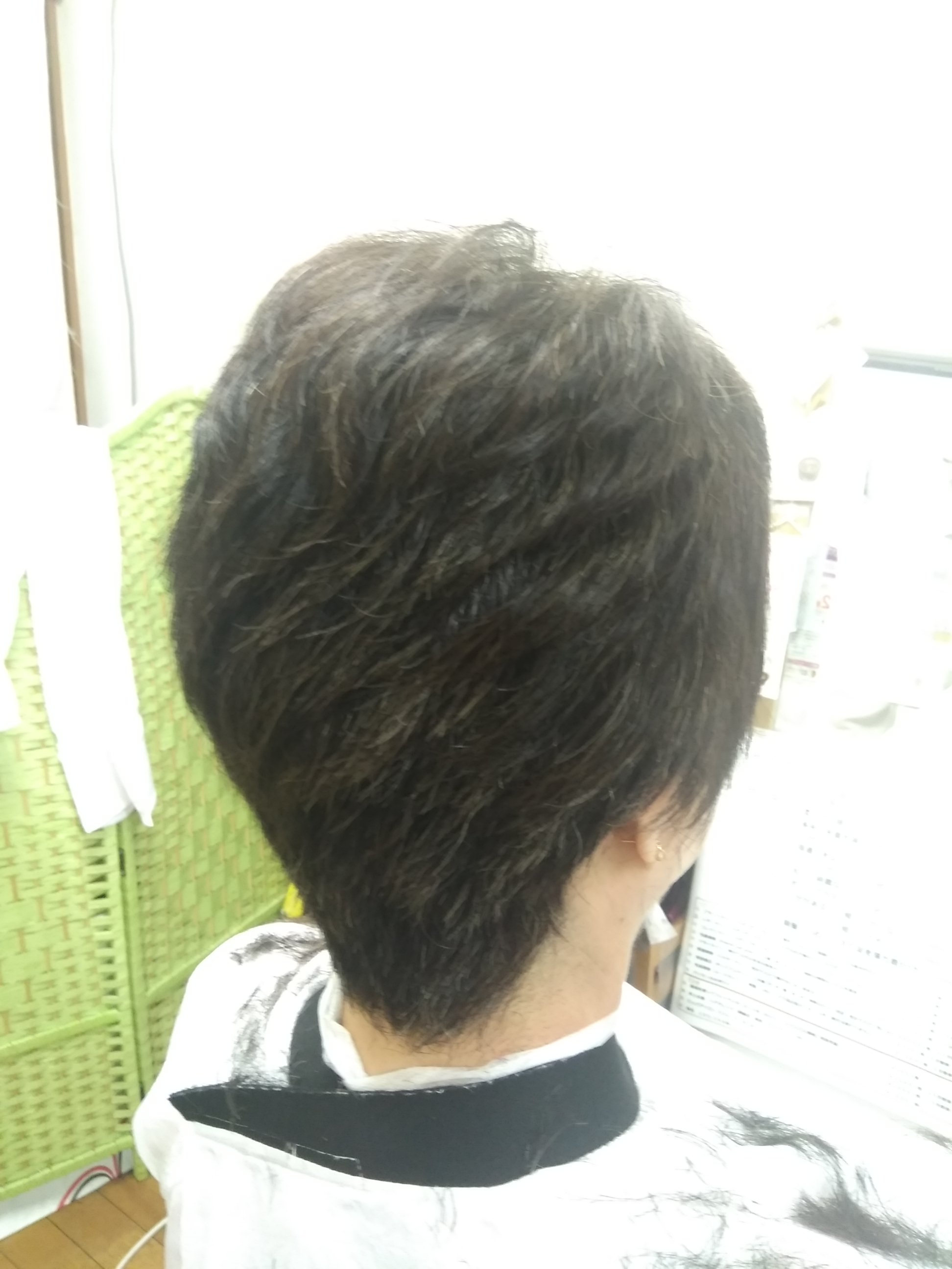 キュビズムカット くせ毛 ⑪ 210524