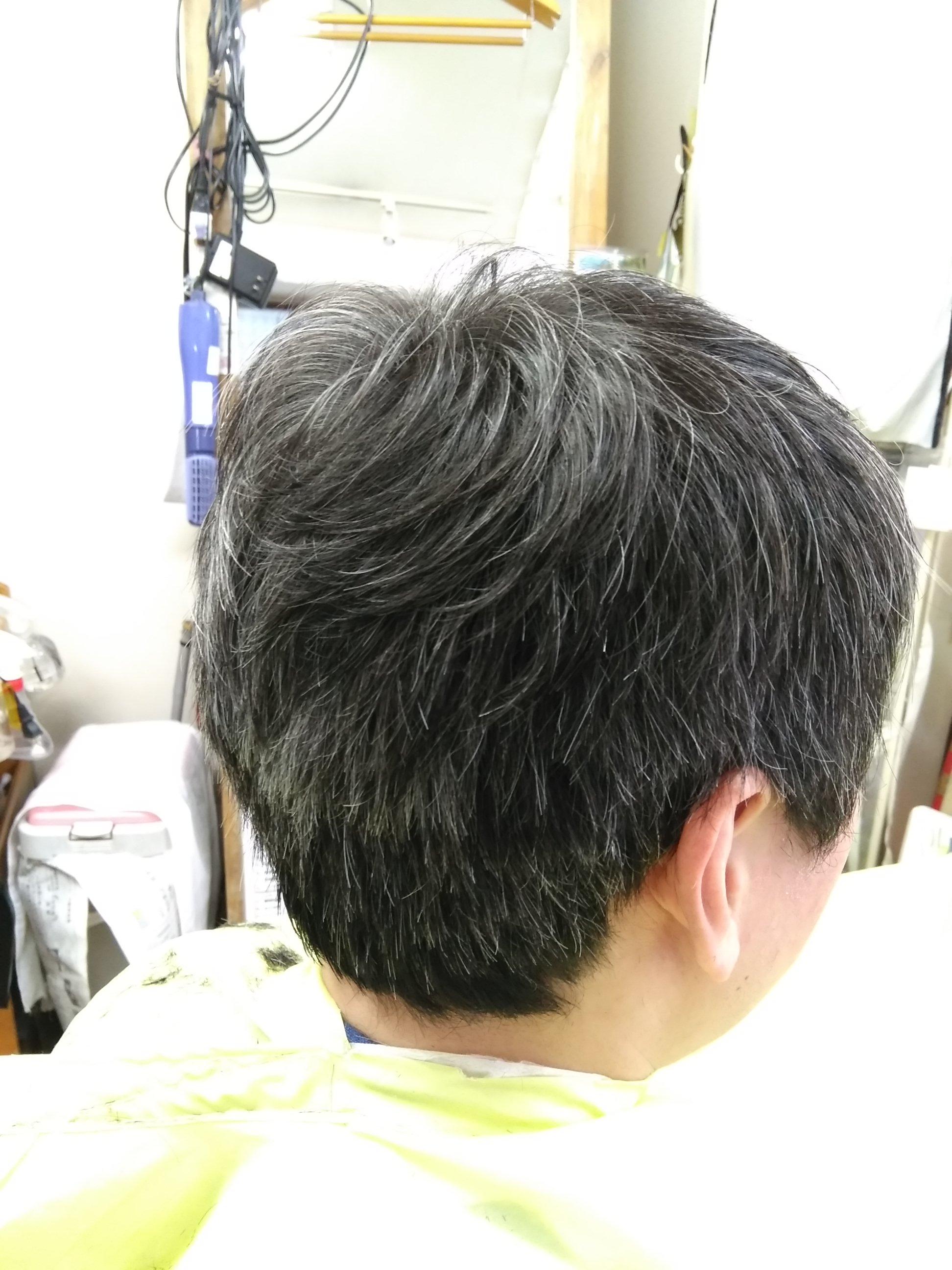 キュビズムカット くせ毛 ⑬ 210707