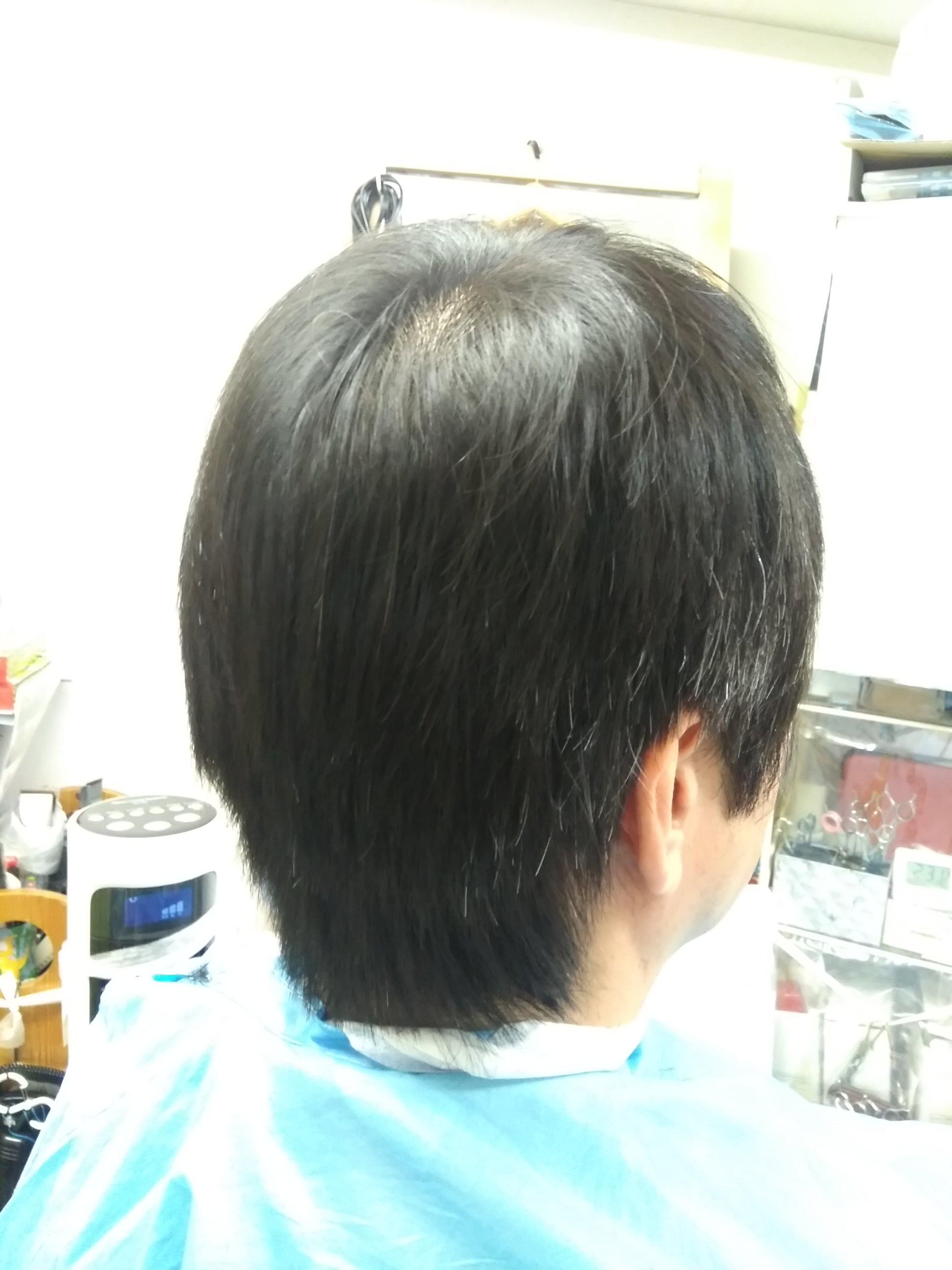 キュビズムカット くせ毛 ⑩ 210729