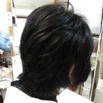 キュビズムカット くせ毛 ④ 211015